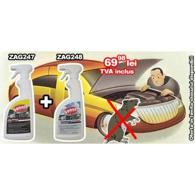Promotie! pentru protectia autoturismului Spoof! ZAG 247 + Spoof! ZAG 248