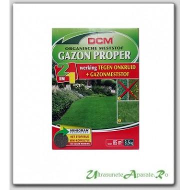 Fertilizant peluza + erbicid (2in1) NPK 9-3-6 DCM 3.5kg