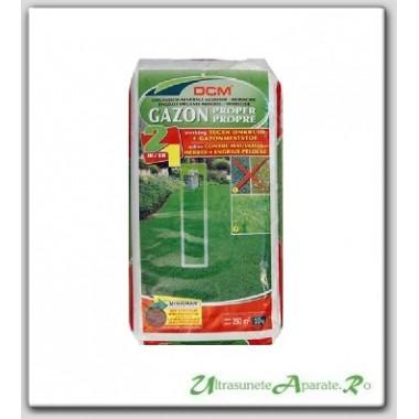 Fertilizant peluza + erbicid (2in1) NPK 9-3-6 DCM 10kg