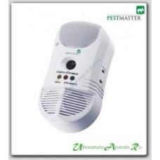 Dispozitiv contra daunatorilor cu ultrasunete, unde electromagnetice si purificator de aer 450mp - Pest Repel 5in1 Pestmaster