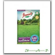 Ingrasamant granulat pentru gazon cu efect prelungit 100 zile (1kg) - Florovit