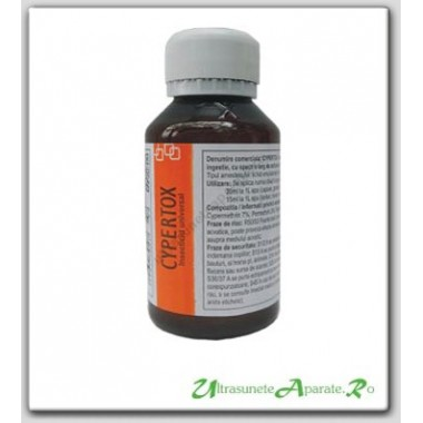 Insecticid profesional de contact si remanenta anti insecte - Cypertox (100 ml)
