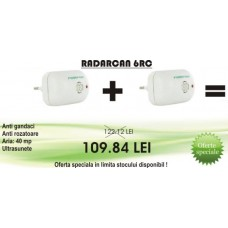 OFERTA - Aparate cu ultrasunete anti gandaci si soareci Radarcan 6RC (40 mp)