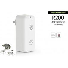 Aparat cu ultrasunete anti rozatoare si insecte Radarcan R200