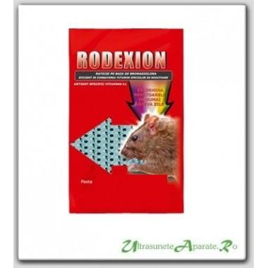 Pasta raticida pentru eliminarea soarecilor si sobolanilor - Rodexion (200 gr)