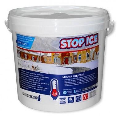 STOP ICE (5kg) Prevenire si combatere gheata, dezghetare rapida, dezapezire, produs biodegradabil