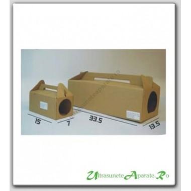 Statie de intoxicare din carton pentru soareci mici Bait Station
