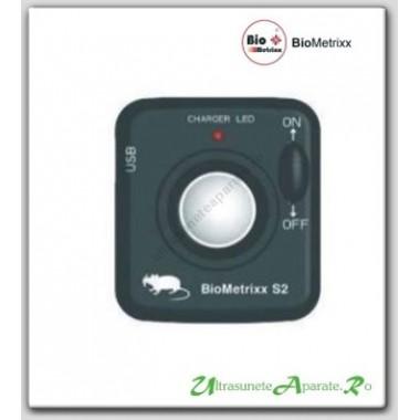 Aparat ultrasunete anti soareci, sobolani si alte rozatoare (25 mp) - Biometrixx S2