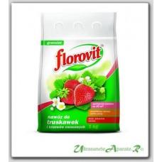 Ingrasamant granulat pentru capsuni si fragi (1kg) - Florovit
