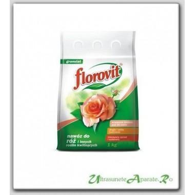 Ingrasamant granulat pentru trandafiri (1kg) - Florovit