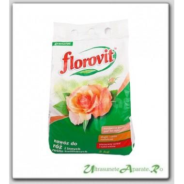 Ingrasamant granulat pentru trandafiri (3kg) - Florovit