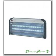 Aparat cu lampa UV anti insecte zburatoare muste tantari (250 mp) - IK40