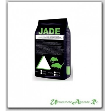 Pasta raticida pentru eliminarea imediata a soarecilor si sobolanilor - Jade verde (100 gr)
