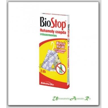 Capcana cu feromoni pentru molia textila, Biostop (2 buc/set)
