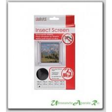 Plasa de protectie pentru ferestre impotriva insectelor - 100x100 cm
