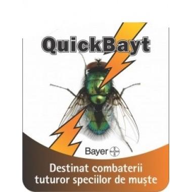 Insecticid granule pentru combaterea mustelor Quick Bait 30gr
