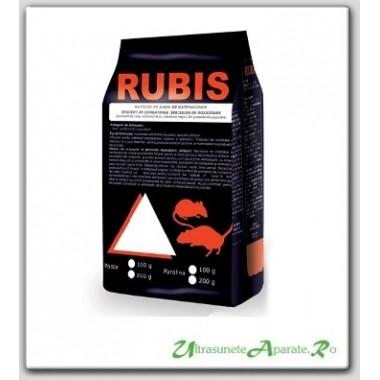 Pasta raticida pentru eliminarea speciilor de rozatoare - Rubis rosie (100 gr)