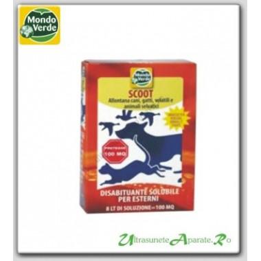 Praf solubil pentru indepartarea pasarilor precun vrabii, porumbei, ciori - 150 gr
