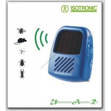 Previne aparitia soarecilor cu ajutorul ultrasunetelor emise de aparatul Solar Vario Schutz (25 mp)